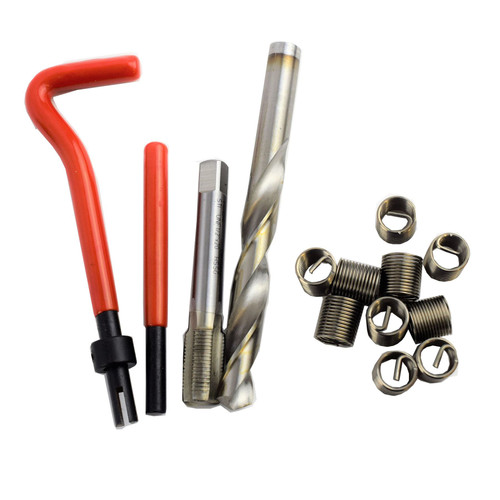 "1/2"" x 20 UNF Imperial Tap Repair Cutter Kit Helicoil Damaged Threads 14pc Kit"