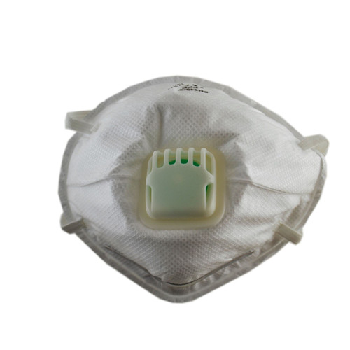 Square Valved Dust Masks Valve Air Respirators Protection Muffle Safety x 20