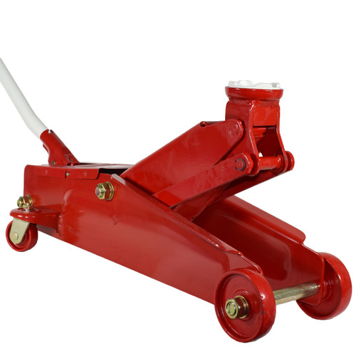 3 Ton Hydraulic Trolley Floor Lifting Jack With Extra Long Chassis For Cars Vans