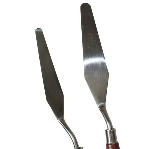 5pc Oil Acrylic Painting Paint Pallette Knife Set Flexible Artist Spatula Knives
