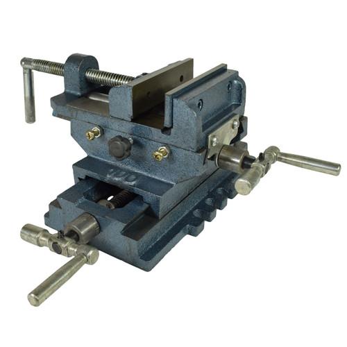 "4"" / 100mm Cross Sliding Engineer Drill Press Vice Machine Vice Hand Clamp Vise"