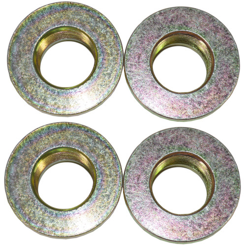 4 Trailer Hub Axle Nuts M30 30mm Flange Nut One Shot for Ifor Williams Trailers