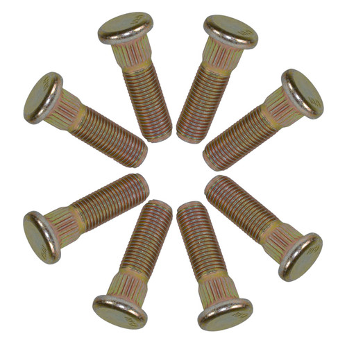 """Pack of 8 3/8"""" UNF Wheel Studs Stud For 4"""" PCD Trailer Suspension Hubs Hub"""