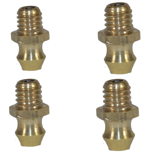 """Trailer Replacement Grease Nipples For Unbraked Hubs With 4"""" PCD Pack of 4"""