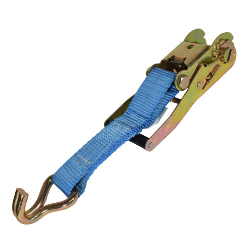 4 Trailer Car Recovery Ratchet Lashing Tie Down Strap 2.5 Ton 15 Metres / 50 Ft