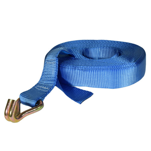 Trailer Car Recovery Ratchet Lashing Tie Down Strap 2.5 Ton 15 Metres / 50 Feet