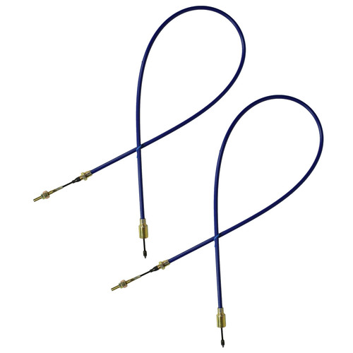 2 x Long Life Trailer Brake Cable Knott Systems Ifor Williams Outer Sheath 1320mm
