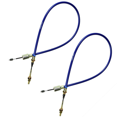2 x Long Life Trailer Brake Cable Knott Systems Ifor Williams Outer Sheath 830mm