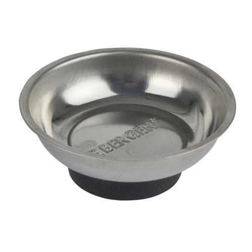 "3"" / 75mm Magnetic Parts Tray Dish Storage Holder Circular Round Stainless Steel"