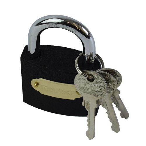 50mm Cast Iron Padlock With Hardened Shackle Padlocks Shed Gate Lock