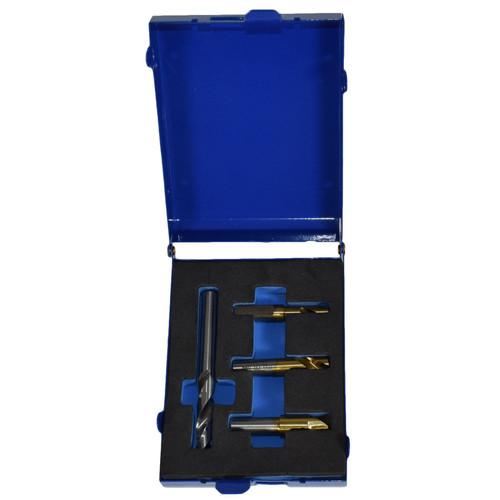 HSS Spot Weld Drill Remover Cutter Cobalt Tip 4pc 6.5mm - 10mm 4pc Set Bergen