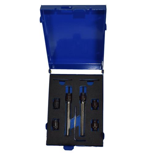 Spot Weld Drill Remover Cutter 8mm - 9.5mm Interchangeable Head 9pc Bergen