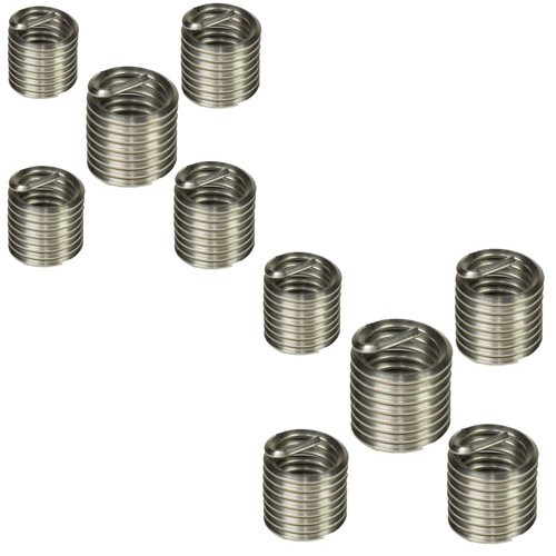 Helicoil Type Thread Repair Inserts 1/2 UNC x 1.5D 10pc Wire Thread Insert