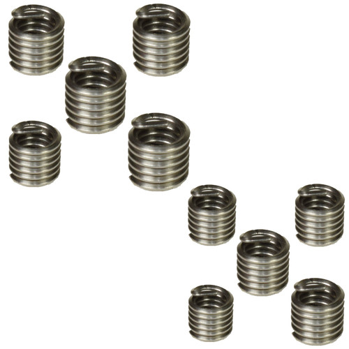 Helicoil Type Thread Repair Inserts 1/4 inch UNC x 1.5D 10pc Wire Thread Insert