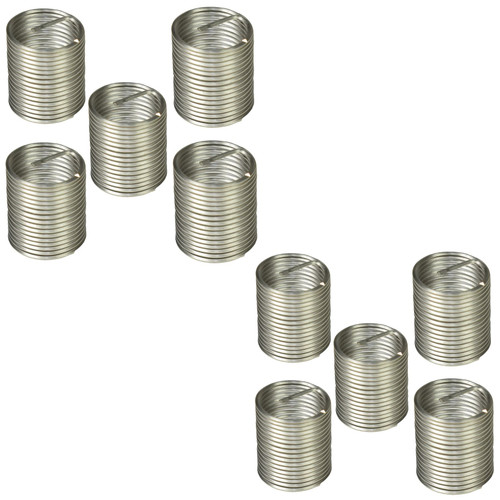 Helicoil Type Thread Repair Inserts 1/2 BSC x 1.5D 10pc Wire Thread Insert