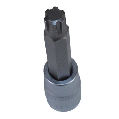 "M11 x 100mm 1/2"" Drive Extra Long Ribe Bit Socket For Subaru Flywheels"
