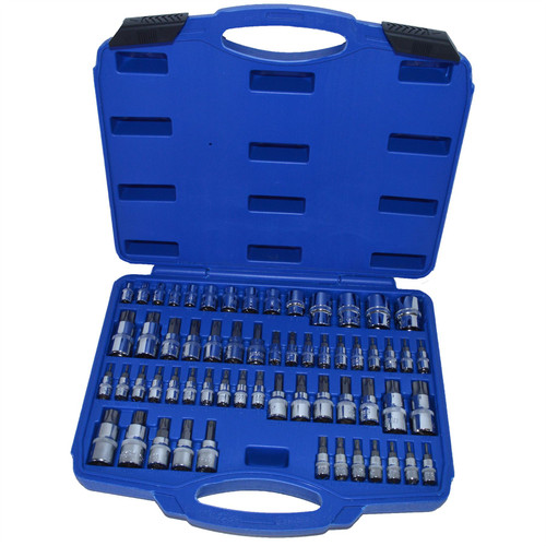 Male And Female Torx Star E Tamper Torx Torx Plus Sockets 60pcs By Bergen
