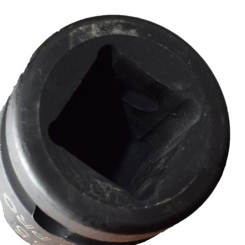 "T55 x 60mm 1/2"" Drive Short Impact Impacted Torx / Star Male Socket By Bergen"