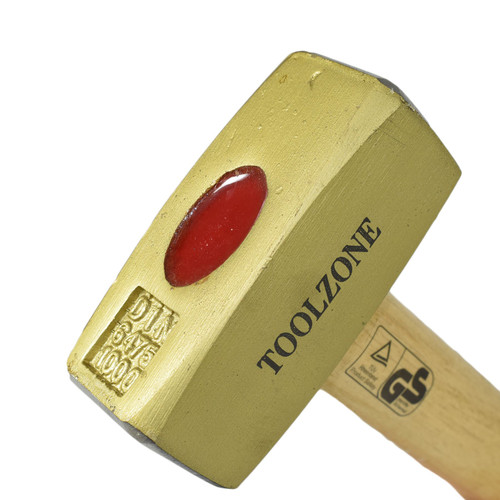 1 KG Double Face Sledge / Lump Hammer Wooden Handle Shaft 2.2lbs