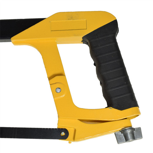 """12"""" 300mm Heavy Duty Hacksaw Frame And Blade With 24 TPI Saw Cutter Cutting"""