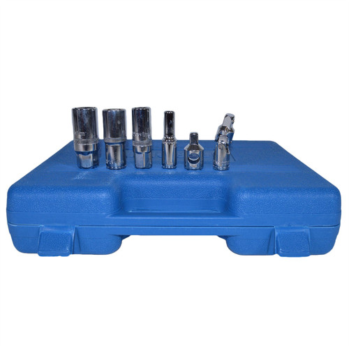 "3/8"" Drive Metric Shallow And Deep Socket And Accessory Kit 61pc By Bergen"