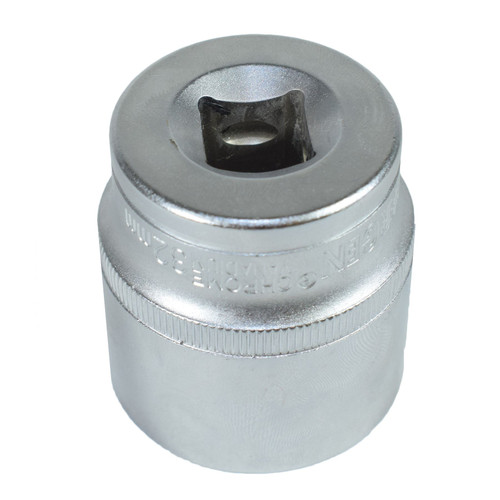"1/2"" Drive 32mm Metric Super Lock Shallow 6-Sided Single Hex Socket Bergen"