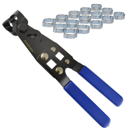 Double Ear Pipe Tube Clips Clamps Hose 20 – 23mm 15pc And CV Joint Boot Pliers
