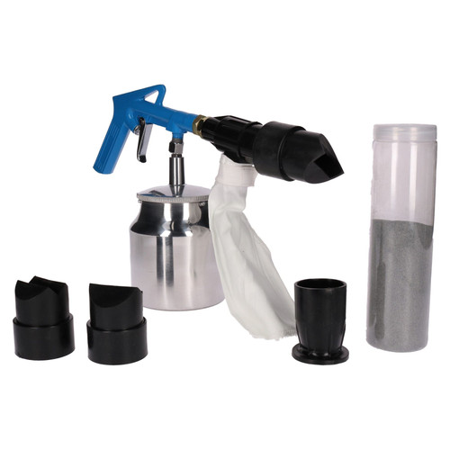 6pc Air Sandblasting Kit | Silverline