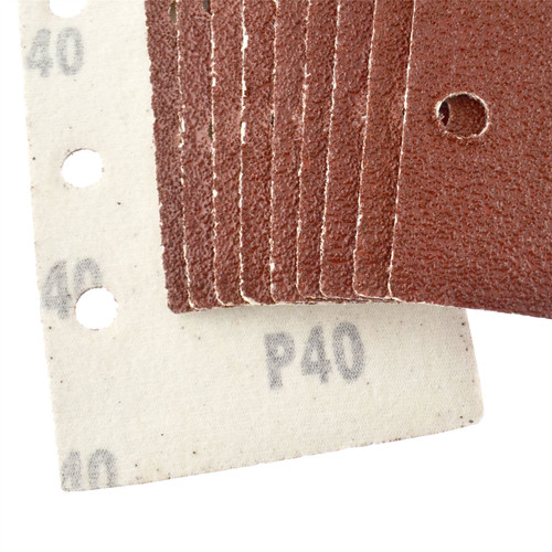 1/3 Sheet Sanding Sander Sandpaper Pads 10 Pack 40 Grit
