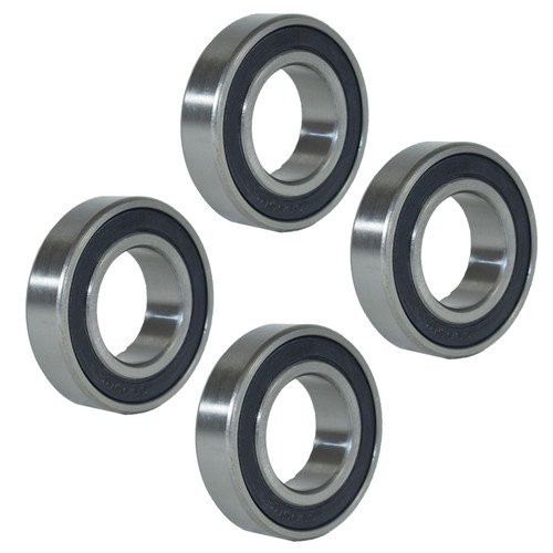 4 Sealed Trailer Wheel Hub Metric Ball Compact Bearings ID25 x OD47 x W12mm