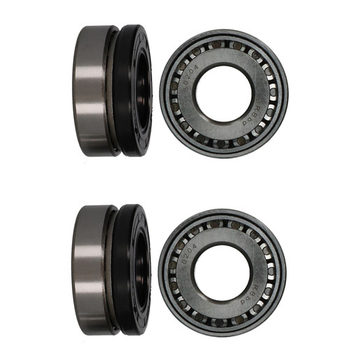 2 Trailer Taper Roller Bearing Kit for Daxara 147 157 Erde 142 Unbraked Trailers