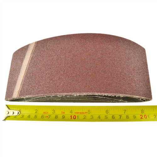 Belt Power File Sander Abrasive Sanding Belts 457mm x 75mm Mixed Grit 20pk