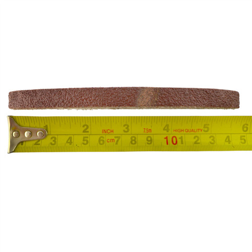 Belt Power Finger File Sander Abrasive Sanding Belts 330mm x 10mm 60 Grit 100pk