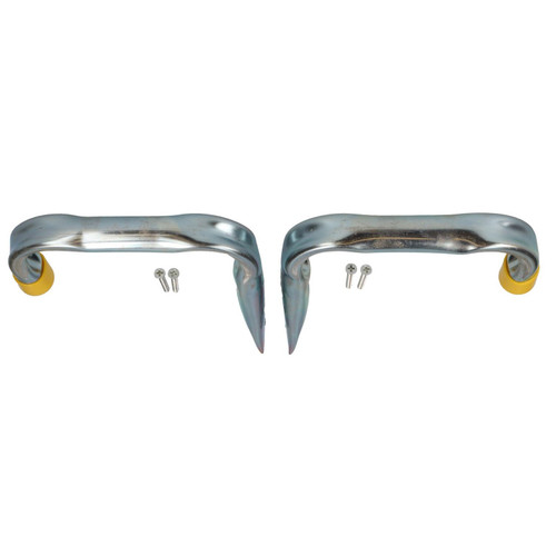 2 Large Tool Storage Hooks Fixings For Ladders Bikes Lawnmowers Garage Shed