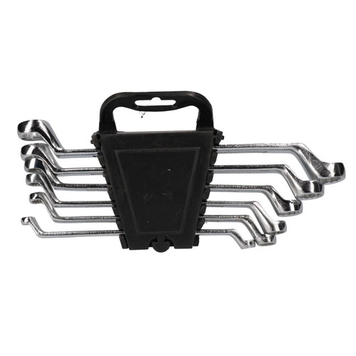 Metric Double Ended Bi-hex Ring Spanners 6mm – 17mm 6 Spanners 12 Sizes