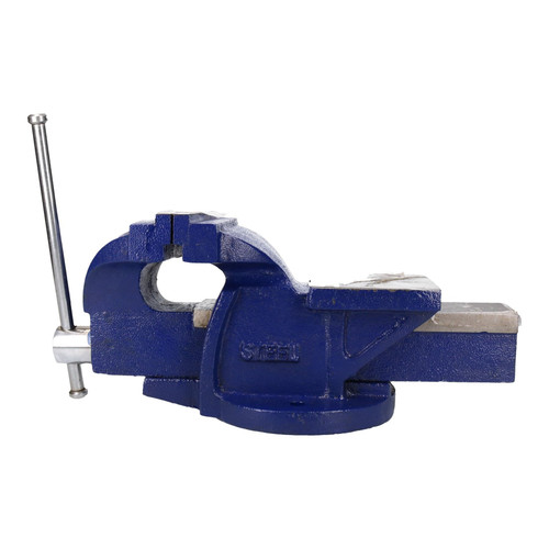 """6"""" (150mm) Cast Iron Fixed Base Bench Vice Vise Clasp Clamp Holder Heavy Duty"""