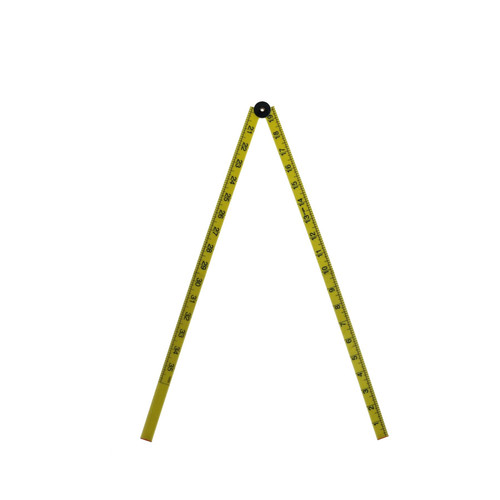 1 Metre Plastic Folding Ruler Rule Lightweight Measurting Measurement Rule