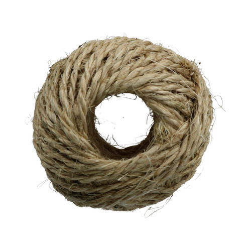 100 Metres 2.5mm Sisal Twine String Jute Ball For Hobby Craft And Gardening Use