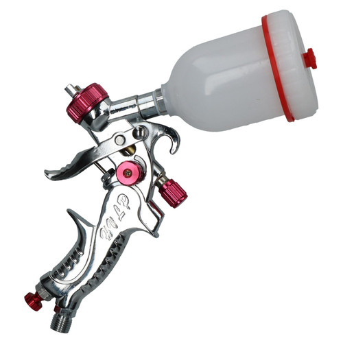 Mini HVLP Gravity Fed Spray Gun with 100ml Cup 0.8mm Nozzle | Bergen