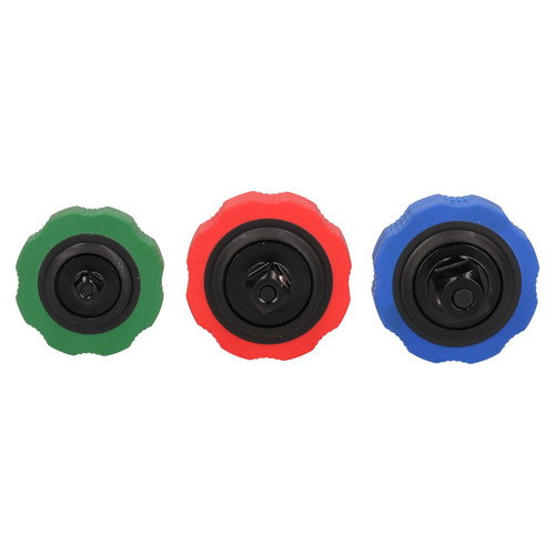 "Thumbwheel Palm Ratchet Socket Spinner Set 1/4"" 3/8"" and 1/2"" Drive"
