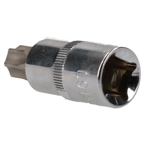 """T60 x 55mm 1/2"""" Drive Torx Star Socket Male T-Star Cr-V Steel AU639"""