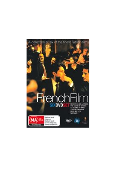 French Film Six DVD Set