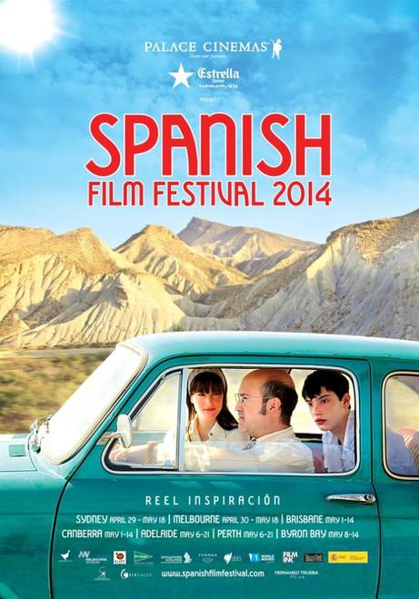 Spanish Film Festival Poster 2014