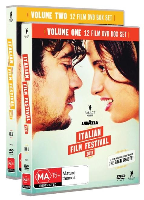 Italian Film Festival 2013 Box Set: Vol 1 & 2