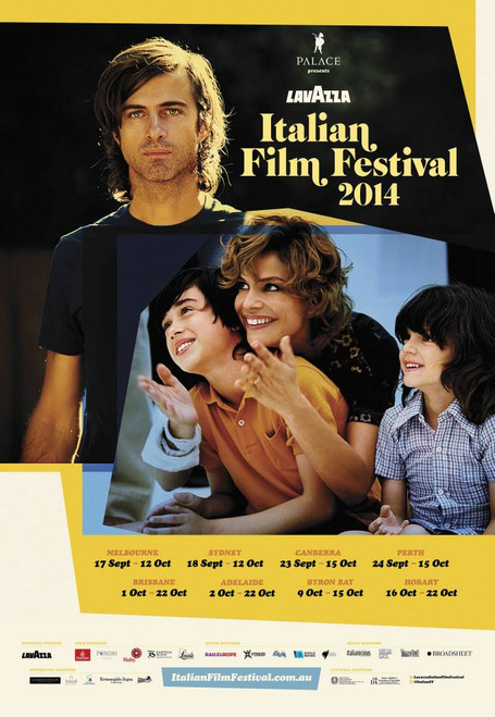 2014 Italian Film Festival Poster