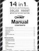 OWI-MSK615 Manual