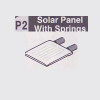 02-610002 (P2) SOLAR PANEL WITH SPRINGS