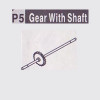 05-610005(P5) GEAR WITH SHAFT