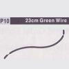 10-610010(P10) 23CM GREEN WIRE