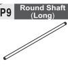 09-6130P9 ROUND SHAFT (LONG)